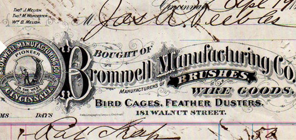 The Bromwell Brush Manufacturing Company