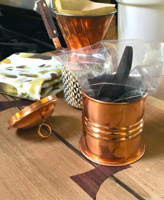 Copper Spice Jar