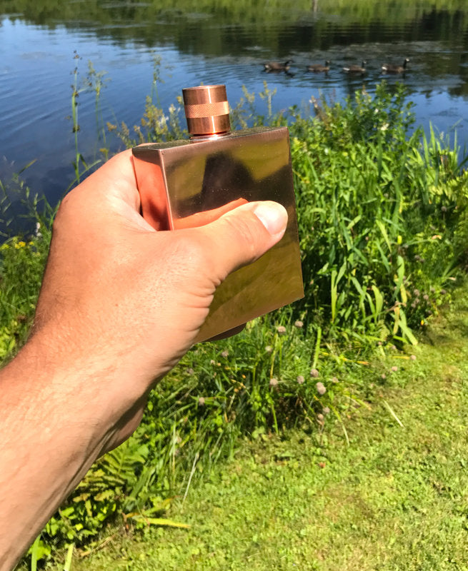Gentleman's Square Flask