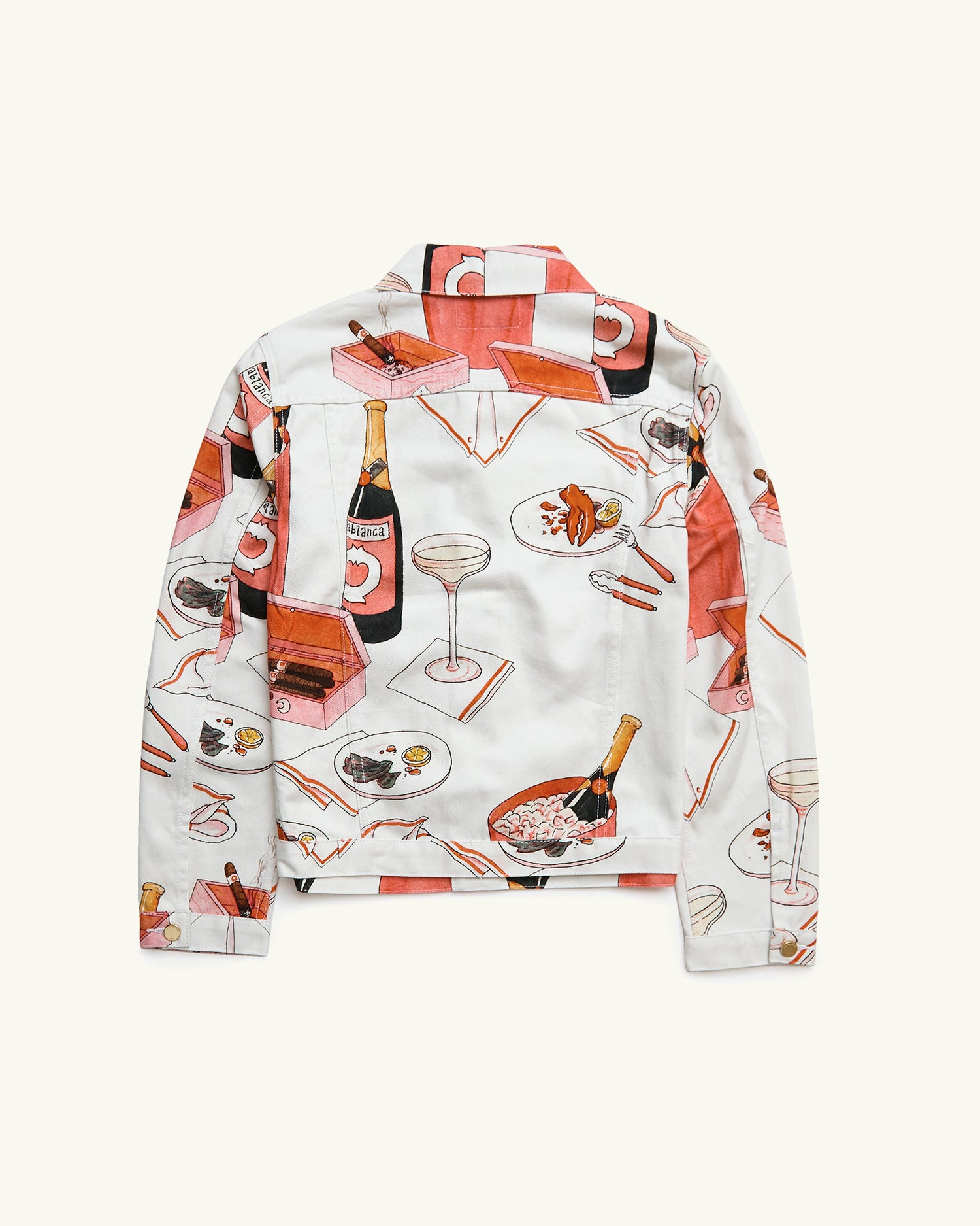 Champagne & Cigars Denim Jacket
