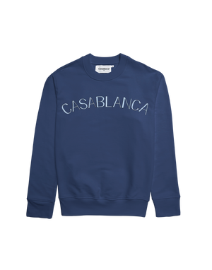 Blue Casablanca Arches Sweatshirt