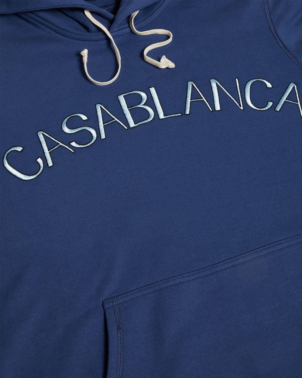 Blue Casablanca Arches Hooded Sweatshirt