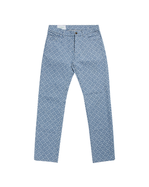 Monogram Vintage Wash Denim Jeans