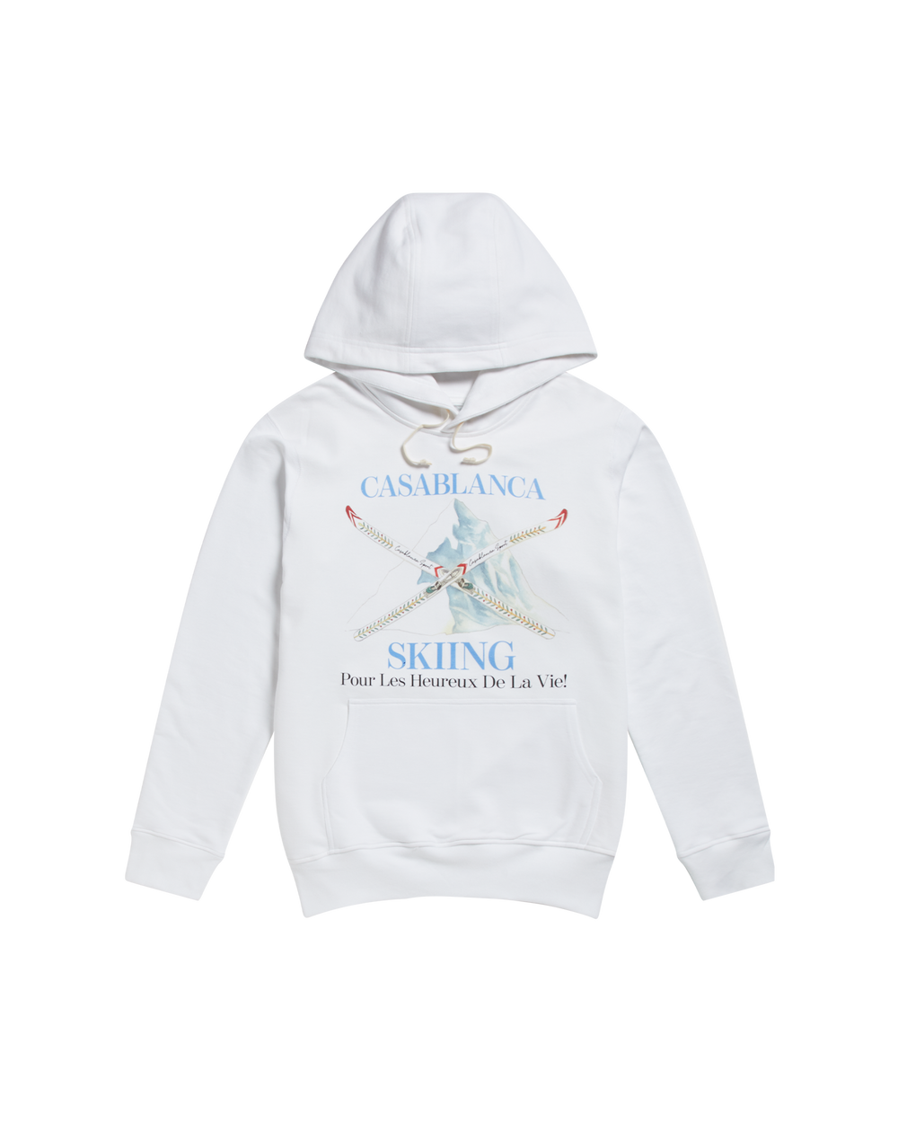 Casablanca Skiing Hooded Sweatshirt