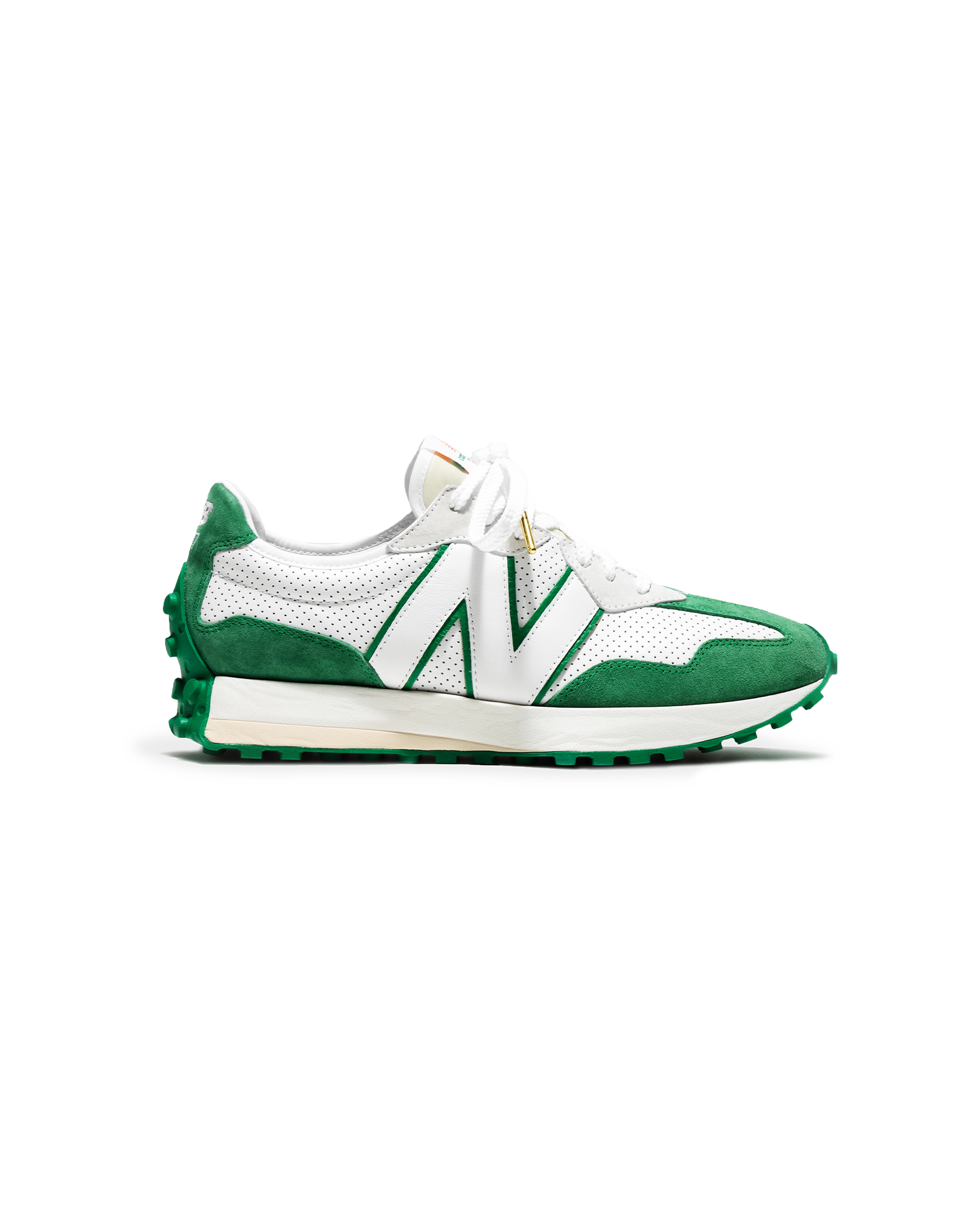 327 Green & White Casablanca & New Balance