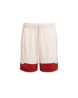 Les Coquillages Silk Shorts