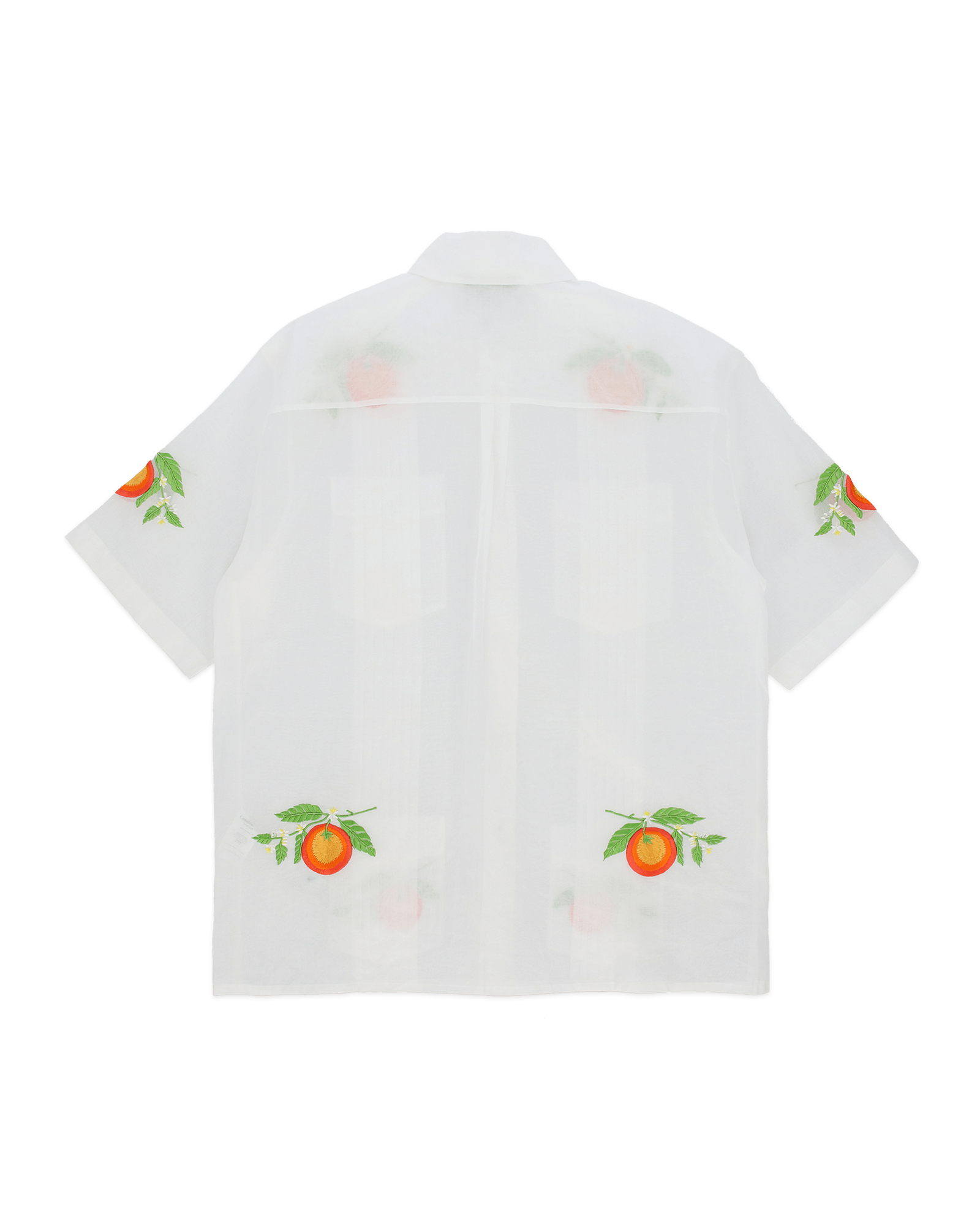 Les Oranges Blanche Cotton Shirt