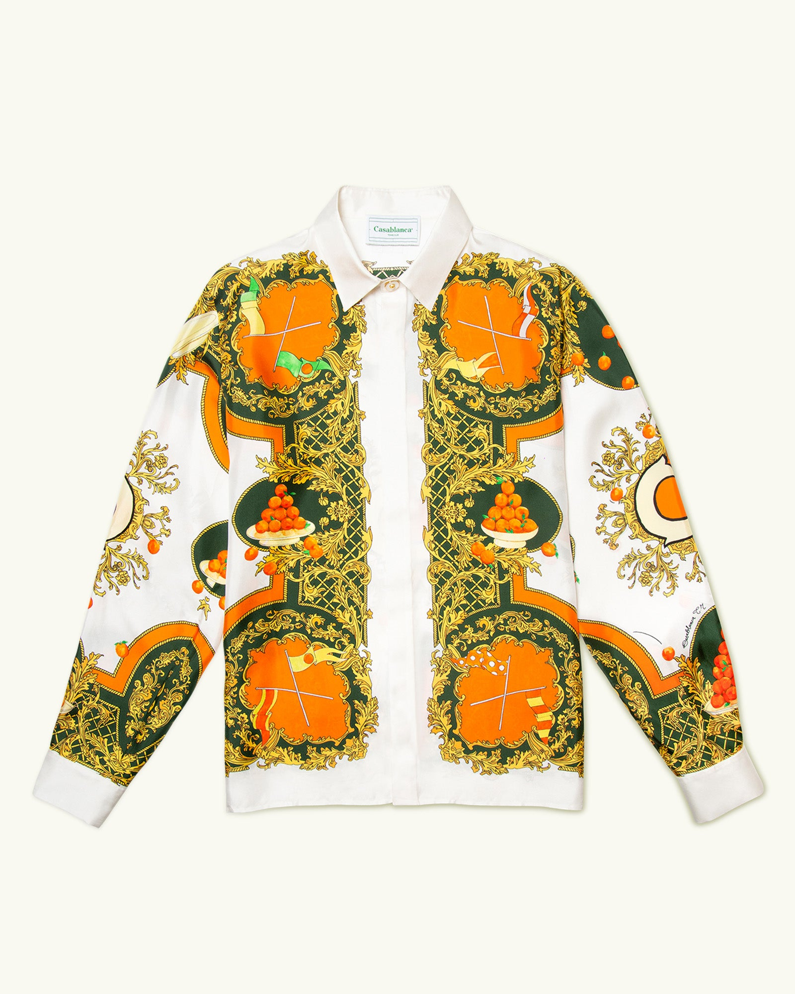Les Oranges Silk Shirt