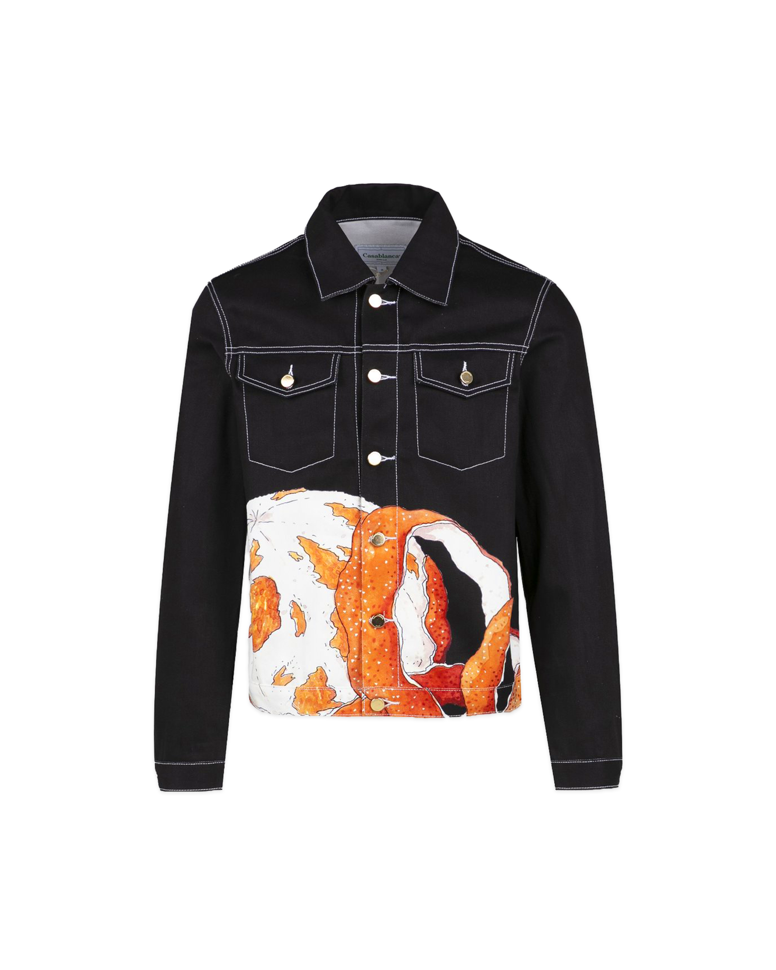 Orange Et Or Denim Jacket