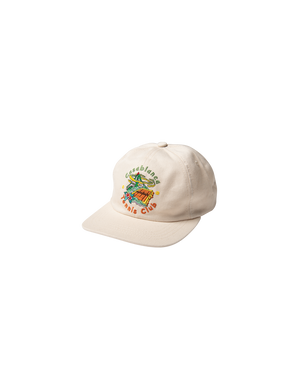 White Casablanca Tennis Club Island Cap
