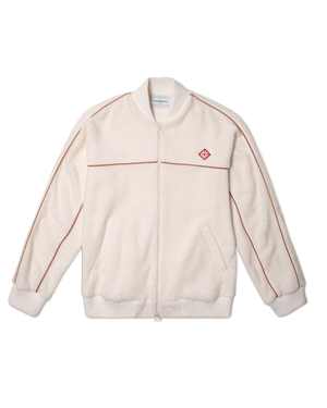 Piped Terry Track Jacket