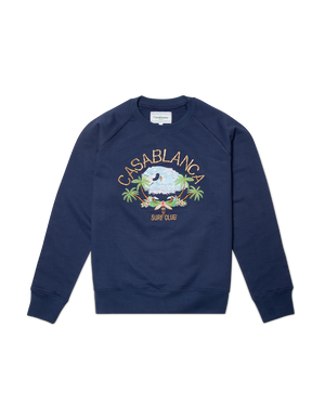 Navy Casablanca Surf Club Sweatshirt