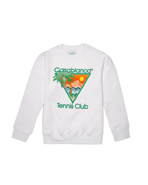 White Tennis Club Icon Sweatshirt