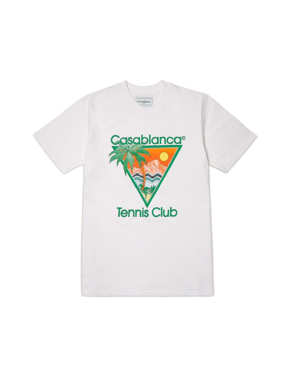 White Tennis Club Icon T-Shirt