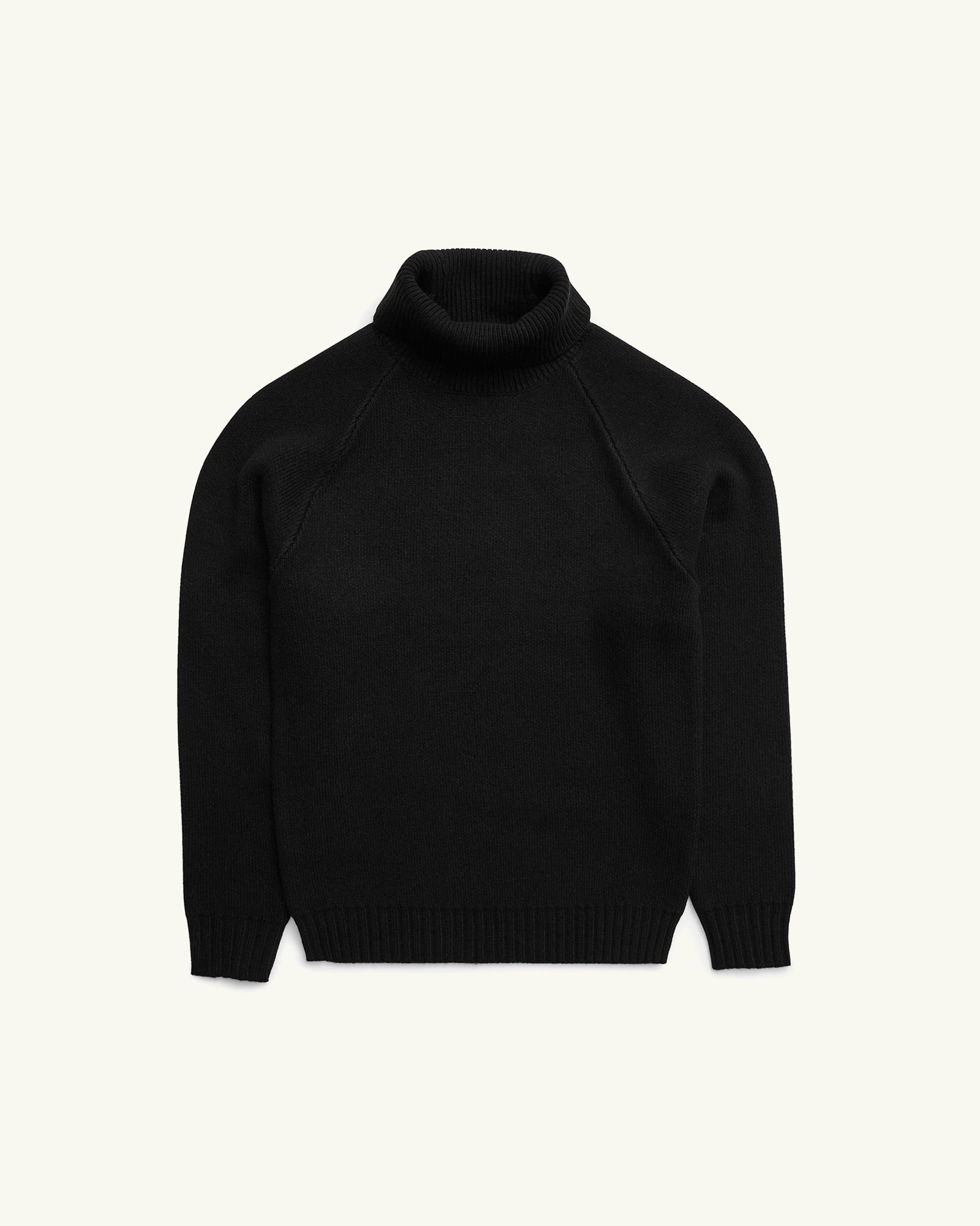 Turtleneck Knit Black