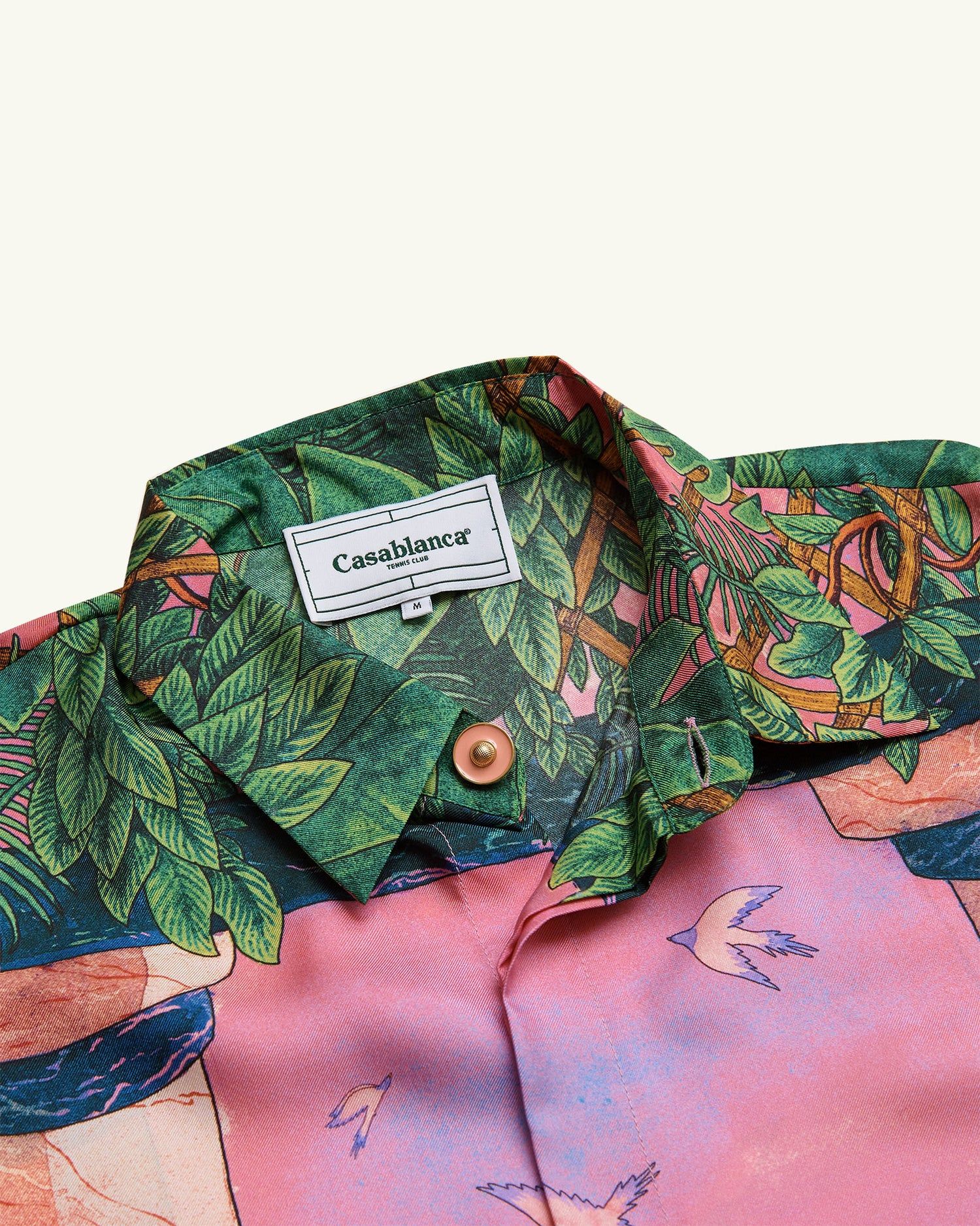 MOCA SUNSET SILK SHIRT