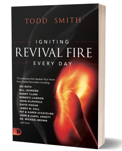 "ORDER NOW! AS CALEB COOPER JOINS GLOBAL REVIVALISTS TO WRITE ONE OF 70 DAILY DEVOTIONALS IN THE BOOK ""IGNITING REVIVAL FIRE EVERY DAY"""