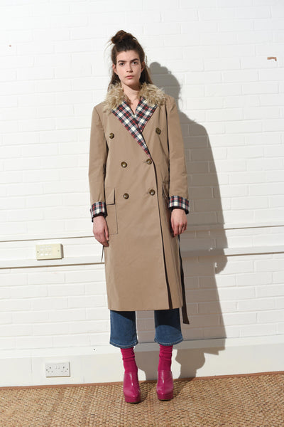 Relaxed Trench Coat
