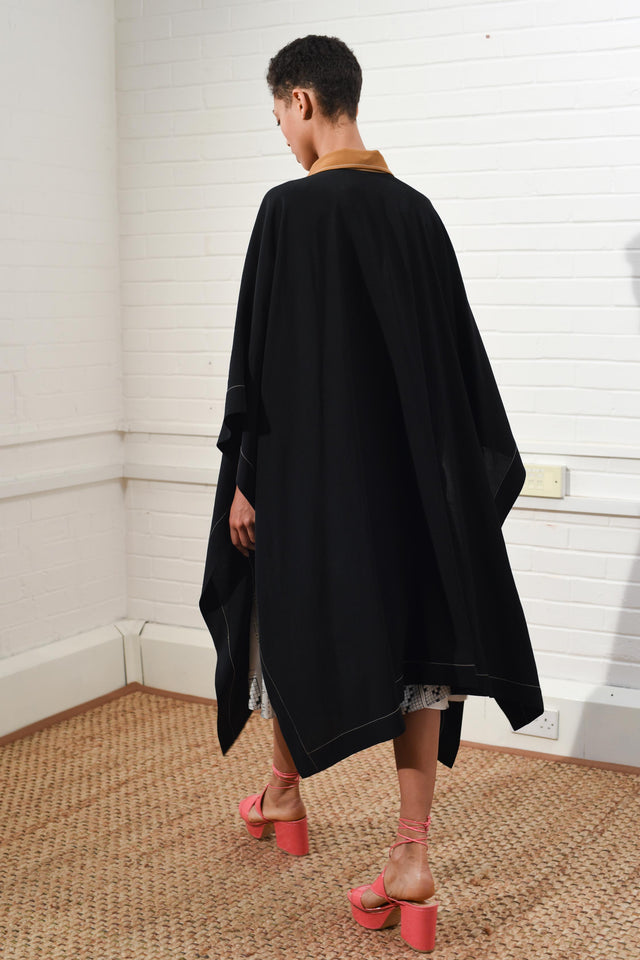 Two-tone Relaxed Cape