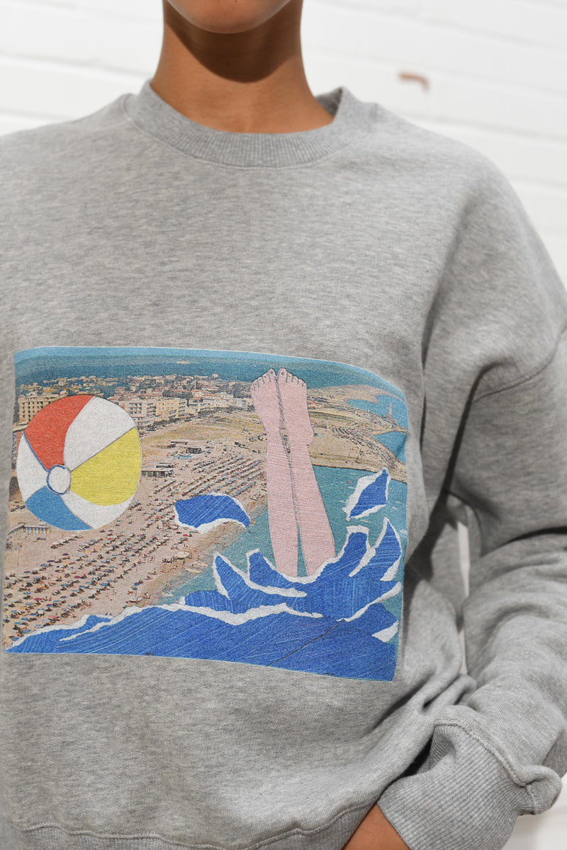 B.D. Graft Collab Boxy Sweatshirt