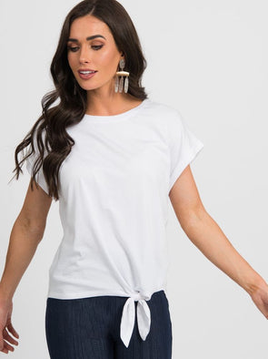 Afternoon Tee Small White