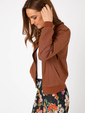 Bomber Jacket Medium Mocha