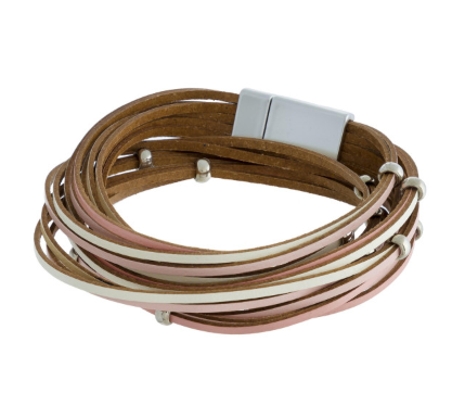 Genuine Leather Layered Bracelet