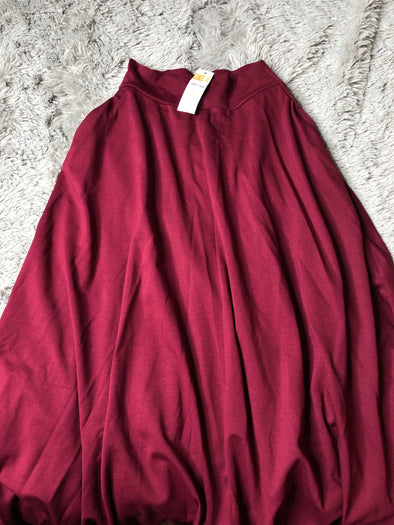 Ball Skirt Small Merlot