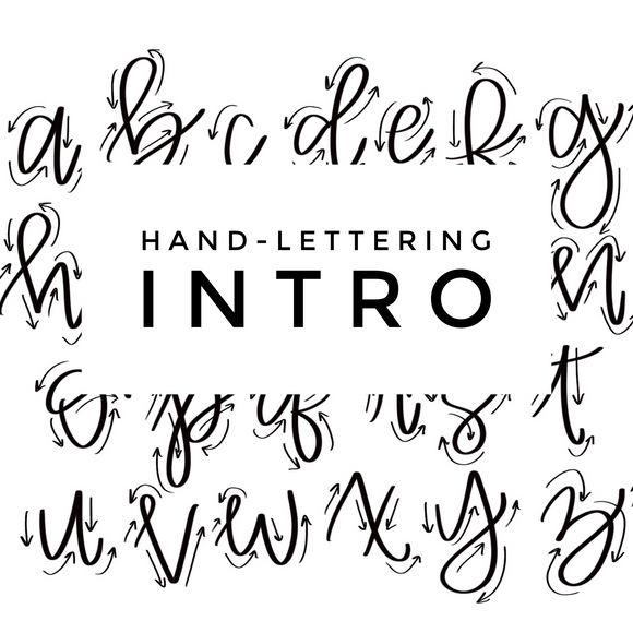 Intro to Hand Lettering: Saturday, March 6th 5 - 6:30pm with Legacy of Love Creations