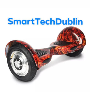 "10"" All terrain Hoverboard + Bluetooth + LED Lights + Remote + Carry bag"