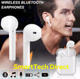 White Bluetooth i7S TWS earpod