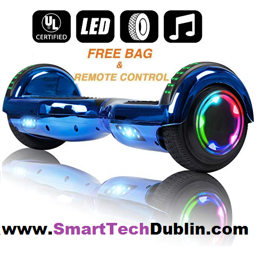 Metalic Hoverboard + Bluetooth + Flashing Led WHEELS