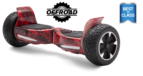 off Road Hoverboard + Bluetooth Speaker + LED Lights + Wireless Remote + Carry bag