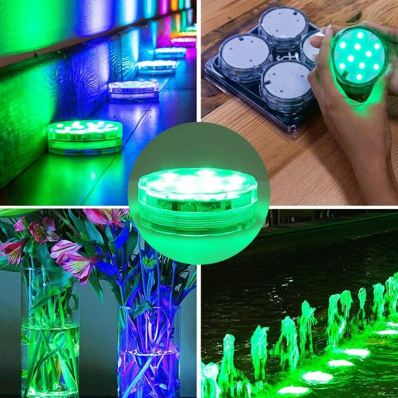 Waterproof LED Lights Set (4 pcs)