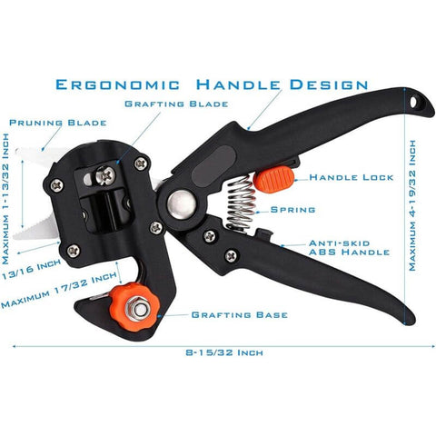 SANRICO™ 2-in-1 Grafting Tools Pruner Kit