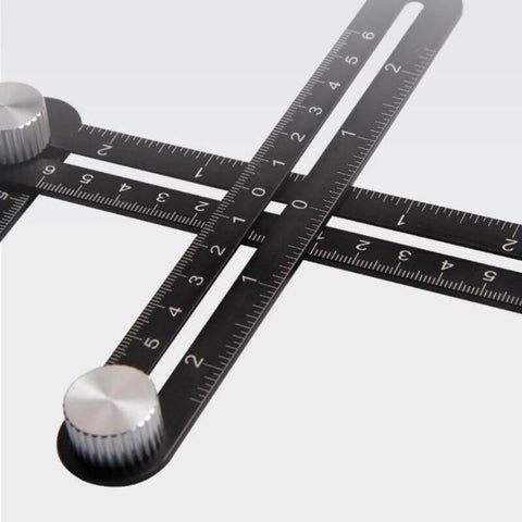 Aluminium Multi-Angle Measuring Ruler