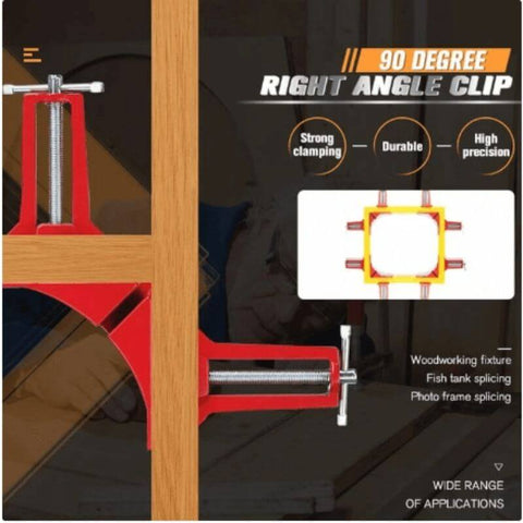 90° Degree Carpentry Angle Clamp