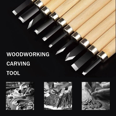 Wood Chisel Set (12 Pcs)
