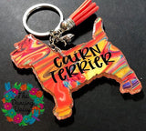 Cairn Terrier Acrylic Key Chain