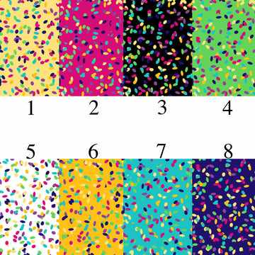 Colorful Spots Adhesive Vinyl