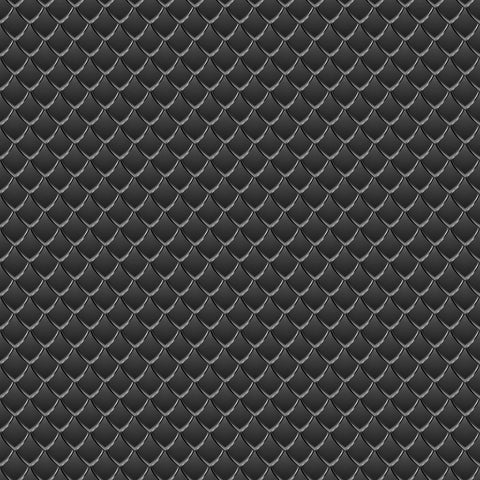 Black Dragon Scales Adhesive Vinyl