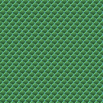 Green Dragon Scales Vinyl