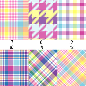 Easter Plaid (Vol 2) Adhesive Vinyl
