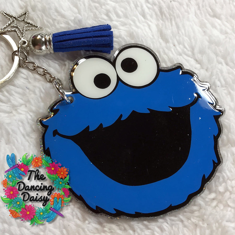 Cookie Monster Acrylic Blank