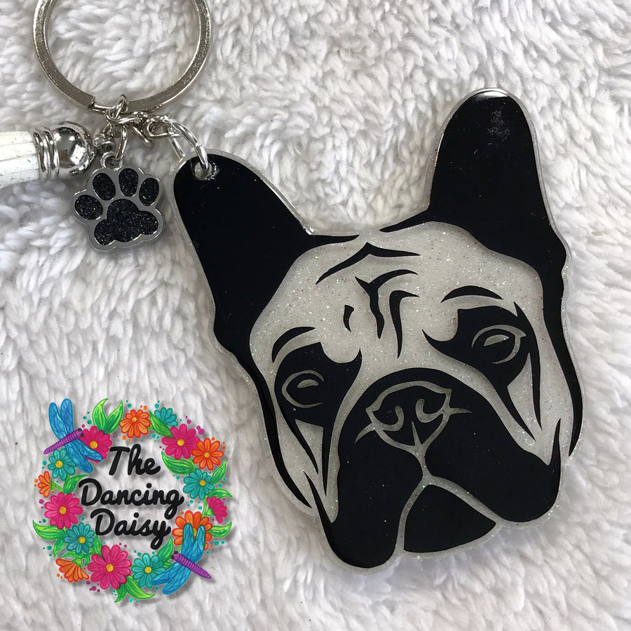 French Bulldog Face Acrylic Blank