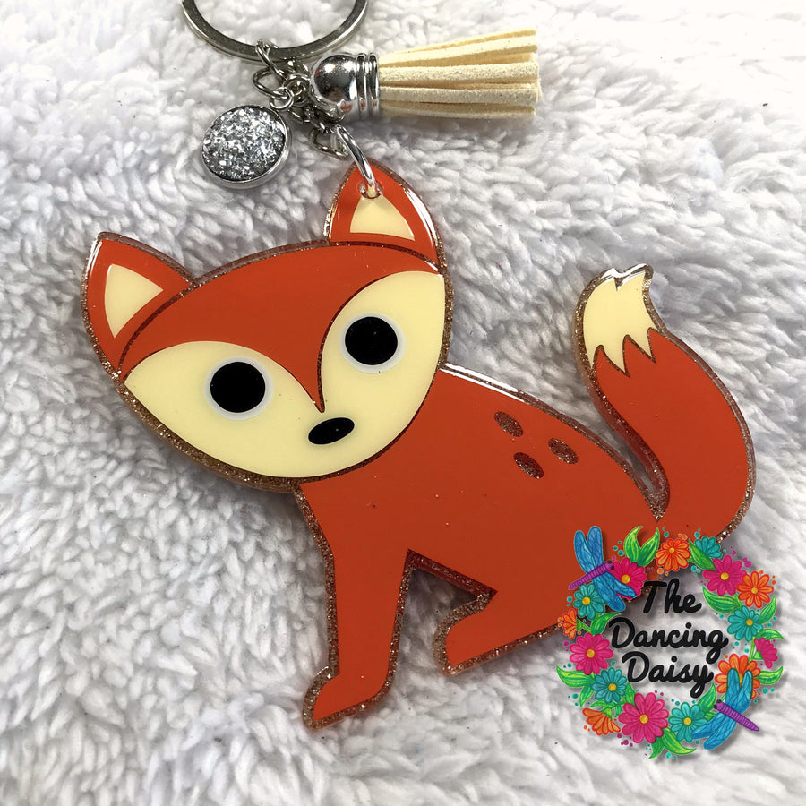 Cute Fox Acrylic Blank