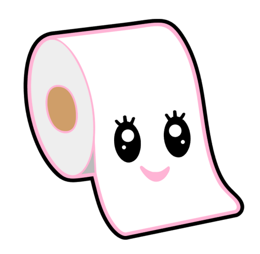Toilet Paper Acrylic Blank