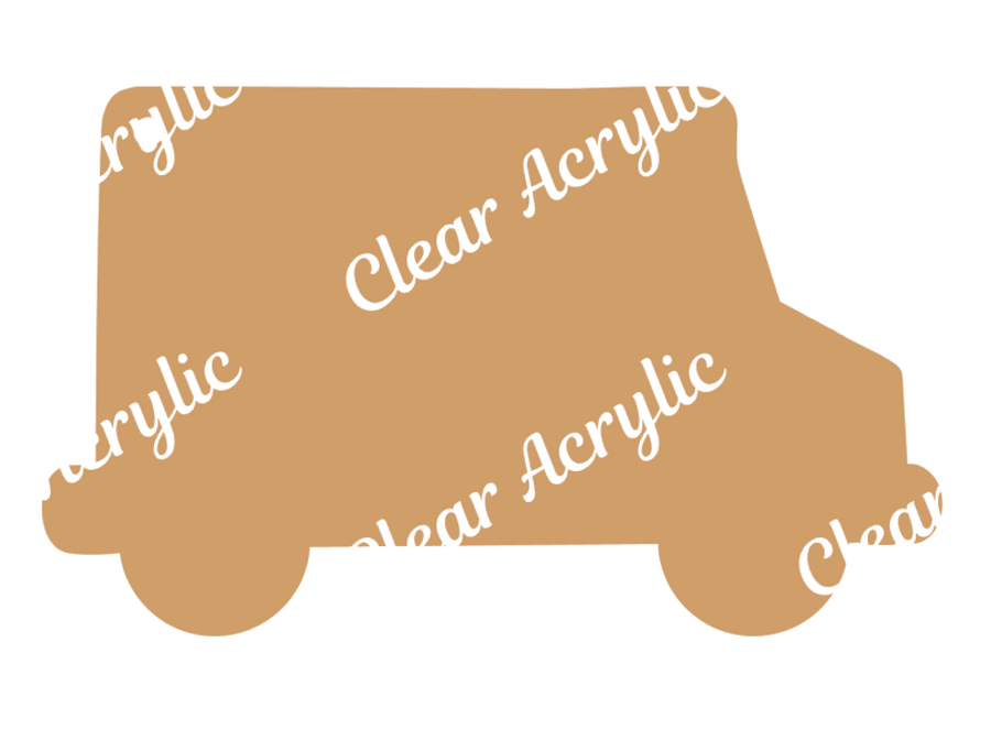 UPS Delivery Truck Acrylic Blanks