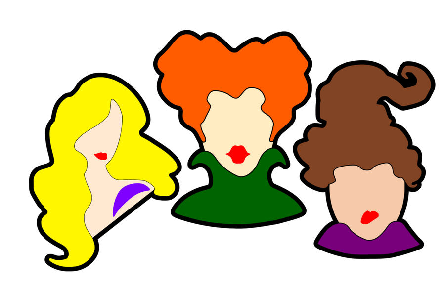 Sanderson Sisters Acrylic Blanks (SET of 3)