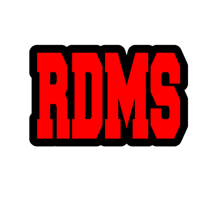 RDMS Badge Reel Blank